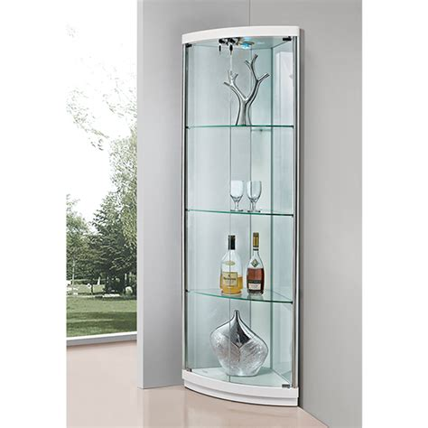 glass cabinets for living room made in china cheap price living room modern design corner