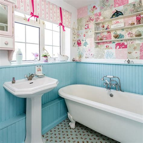 bathroom wallpaper ideas uk country bathroom pictures house to home