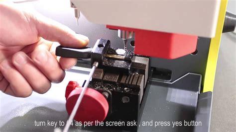 Sec-e9 Automatic Key Cutting Machine--how To Cut Ford Car