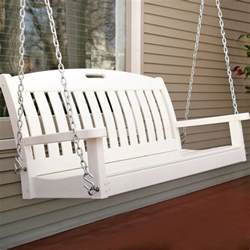 Plastic Porch Swings by Porch Swing Recipe Dishmaps