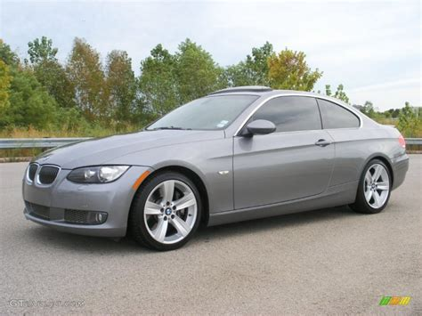 2007 Bmw 335i Coupe by Space Gray Metallic 2007 Bmw 3 Series 335i Coupe Exterior
