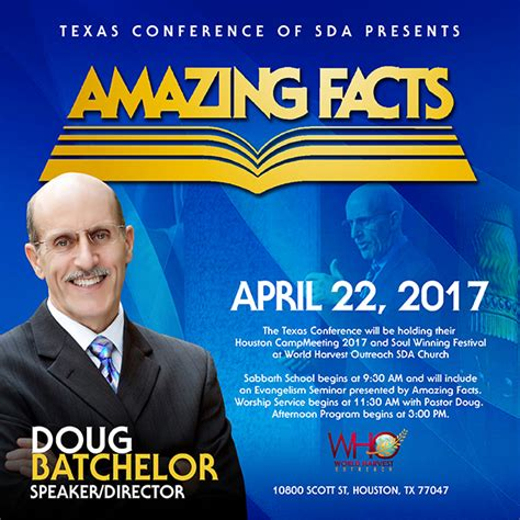Amazing Facts with Doug Batchelor - World Harvest Outreach ...