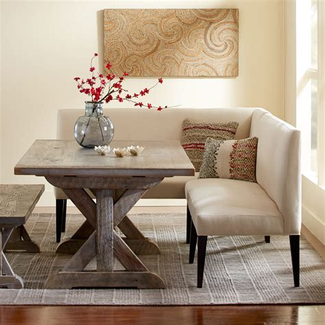 dining fabulous french style dining settee bench