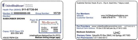 health care gov phone number uhc member id card