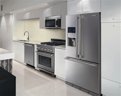 New Electrolux Icon Stainless Steel Appliance Package With