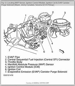 2002 Chevy S10 Vacuum Line Diagram