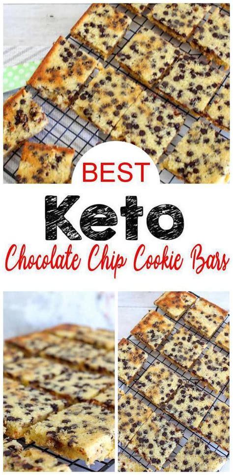 Sugar free cookies, gluten free cookies, keto cookies, low carb cookies. BEST Keto Cookies! Low Carb Keto Chocolate Chip Cookie ...