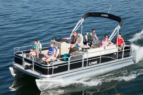 Best Pontoon Fishing Boats 2016 by 2016 New Lowe Sf214 Sport Fish Pontoon Boat For Sale