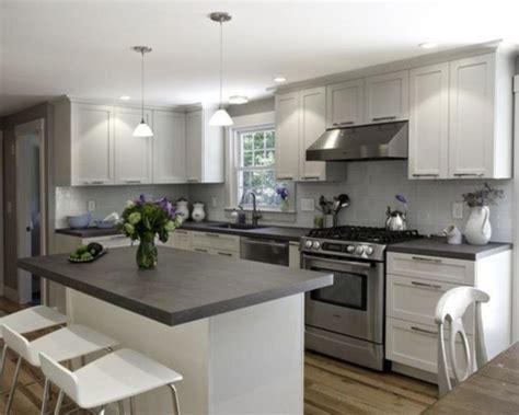 Kitchen Floors Ideas - 80 cool grey kitchen cabinet ideas round decor
