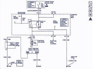 2000 Chevy Silverado Fuel Pump Wiring Diagram  2001