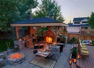 Outdoor Backyard Cooking Patios Ideas - L10Backyard Patio
