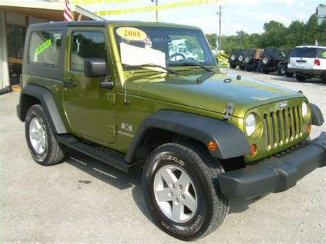 Jeep Wrangler Color Hardtop by Purchase Used 2008 Jeep Wrangler X Sport 4x4 2 Door