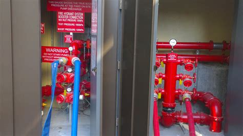 sheraton  points hotel hydrant commissioning