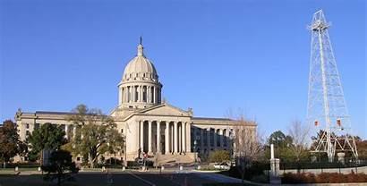 Oil Oklahoma Capitol Building Derrick Anadarko Basin