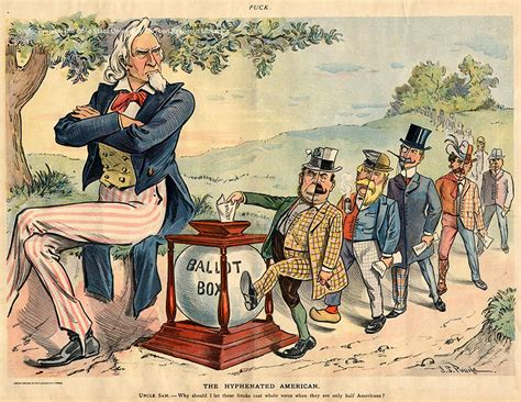 Election Panic Political Cartoons From American History