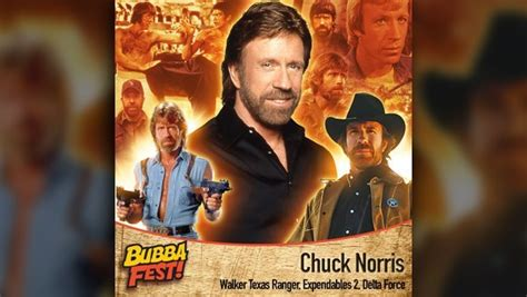chuck norris coming knoxville bubba fest