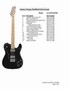 Squier Tele Custom Ii Wiring Diagram