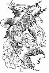 Coloring Pisces Simple Pages Animals sketch template
