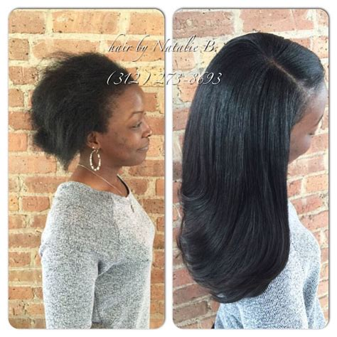 Sew In Hairstyles That Look by Your Sew In Should Look Like A Of Healthy Hair That