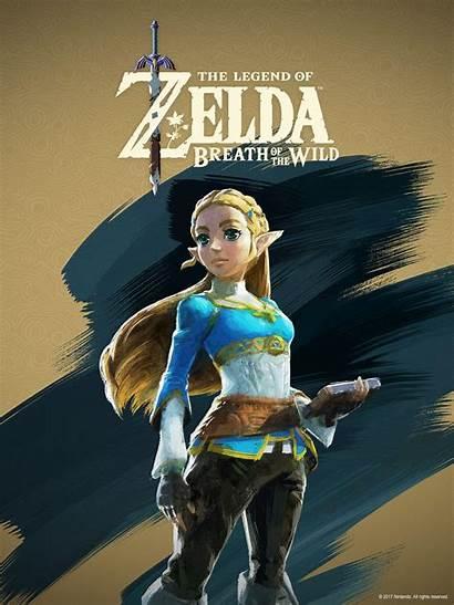 Zelda Breath Wild Wallpapers Sheikah Tablet Legend