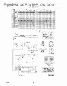 Parts For Frigidaire Gltf530ds0  Wiring Diagram Parts