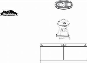 Download Kingsford Charcoal Grill 10040106 Manual And User