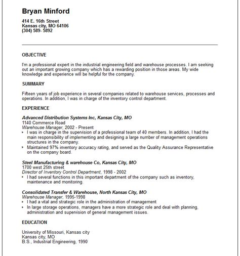 Warehouse Manager Resume Example  Free Templates Collection. Resume Help Victoria Bc. Letterhead In Word. Curriculum Vitae Download Italiano Gratis. Resume Building Certifications. Cover Letter For A Cv. Cover Letter Template Physician. Resume Help Vaughan. Ejemplos De Curriculum Vitae Profesionales Word