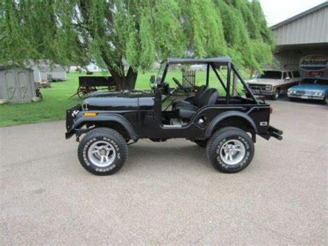 jeep kaiser cj5 sell used jeep cj cj5 kaiser not amc willys or ford rare