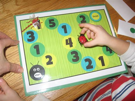 on math for preschool the letter quot i quot the measured 442 | playing the board game