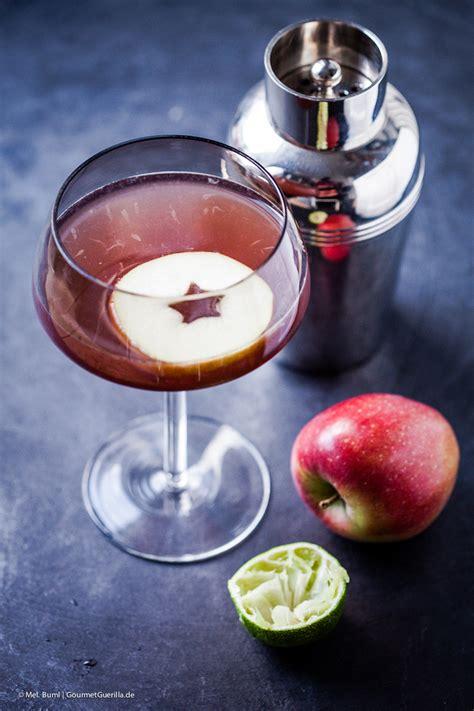 {aperitif & Cocktail} Pink Appletinis, Wunderbar Rosa Und