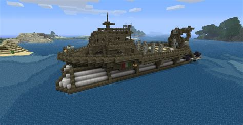 Minecraft Boat Banner by Airship Fleet Work Boat Minecraft Project