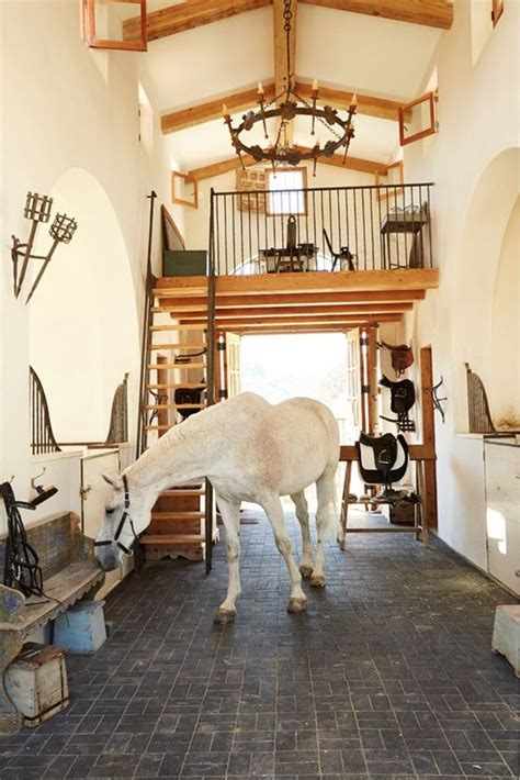 horse barn stable mediterranean stables barns amazing inside farm dream southern california fancy horses luxury stalls most equestrian farms property