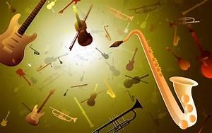 Musical instrument wallpaper - 42860