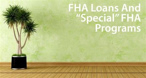 fha loans  home buyers   works