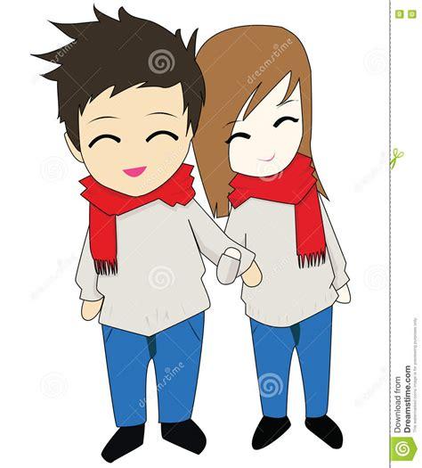 happy anime couple holding hands www pixshark com
