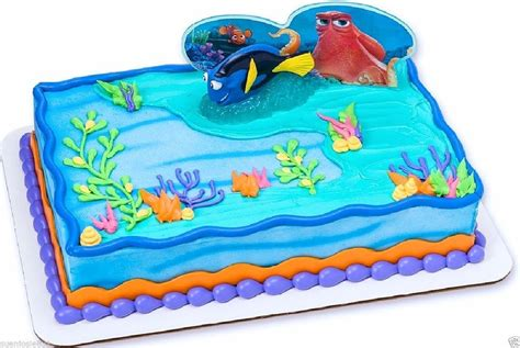 adventures in cake decorating disney finding dory fintastic adventures cake decoration