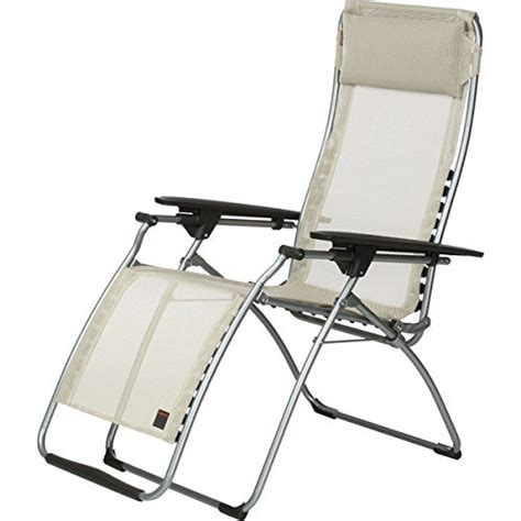 Lafuma Chairs For Reflexology by Lafuma Futura Zero Gravity Recliner Grey Steel Frame