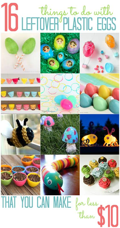 things you can make with eggs 16 things to do with leftover plastic eggs that you can make for less than 10 all cheap