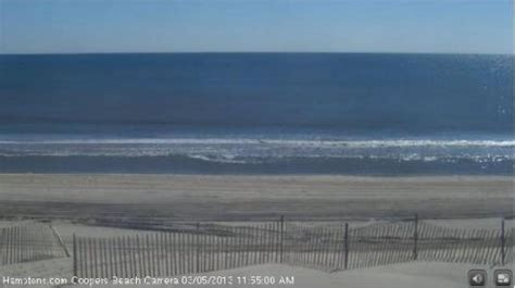 hamptons beach weather camera coopers beach