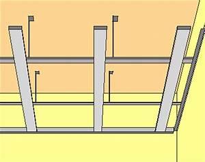 Pose Rail Placo Plafond : isoler un plafond ~ Dailycaller-alerts.com Idées de Décoration