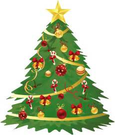 large transparent christmas tree with ornaments and candy canes clipart best clipart best