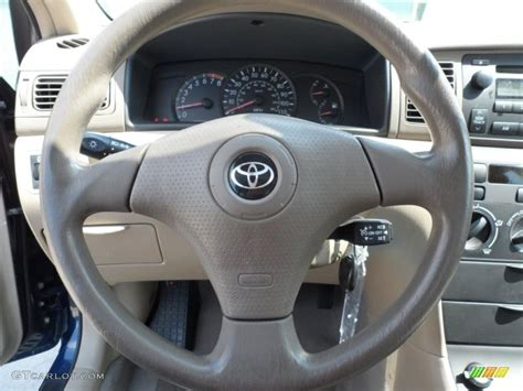 toyota steering wheel 2006 toyota corolla ce beige steering wheel photo