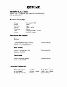 Reference In Resume Sample Best Resume Gallery