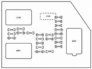 Chevrolet Avalanche  2007   U2013 Fuse Box Diagram