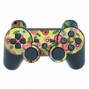 Button Flowers PS3 Controller Skin | iStyles