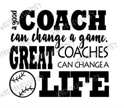 great coach svg baseball coach svg tee ball coach svg
