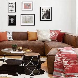 Braune Couch Welche Kissen Wohnzimmer Ideen Mit Brauner Couch F R