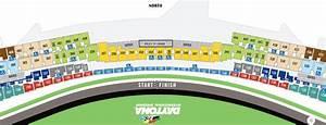 Daytona 500 Seating Guide Daytona International Speedway