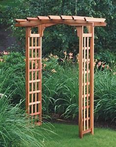Wooden Garden Arbor Plans – Outdoor Decorations