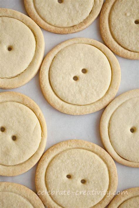 button sugar cookies celebrate creativity